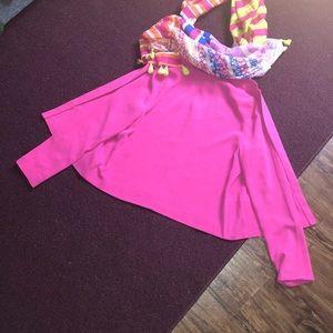 FOREVER 21 Hot Pink Blazer.